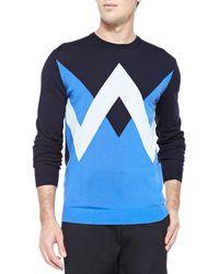 Kenzo Twin Peaks Crewneck Sweater - Lyst
