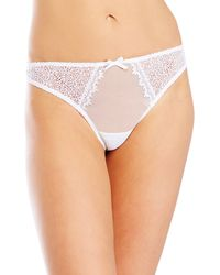 Christies White Voyage Thong - Lyst