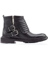 Burberry Keating Quilted Ankle Boots - Lyst