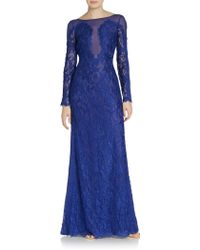 Emilio Pucci Lace Low-back Gown - Lyst