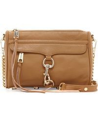 Rebecca Minkoff Mini Mac Crossbody Bag Fatigue - Lyst