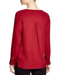 Vince Camuto - Studded Blouse - Lyst