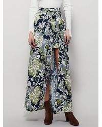 Free People | Womens Young Thing Maxi Skirt | Lyst