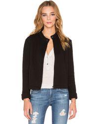 Bella Luxx - Structured Cotton-Blend Jacket  - Lyst