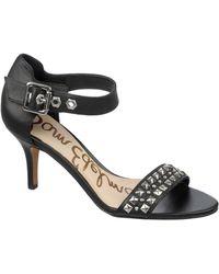 Sam Edelman Ryelle Studded Leather Sandals - Lyst