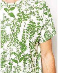 Jack Wills - Camberwell Tshirt with Herb Print - Lyst