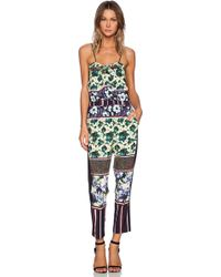 Clover Canyon - Floral Collage Jumpsuit - Lyst