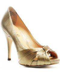 Boutique 9 Gold Udell Pump - Lyst