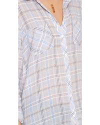 Soft Joie Sequoia Button Down Shirt - Blue