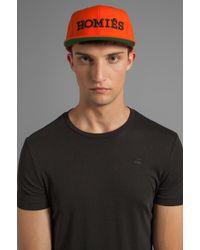 Brian Lichtenberg Homies Embroidered Caps - Orange