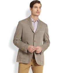 Slowear Linen Cotton Blazer - Lyst