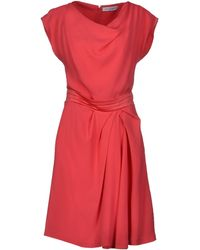 Viktor & Rolf Pink Short Dress - Lyst