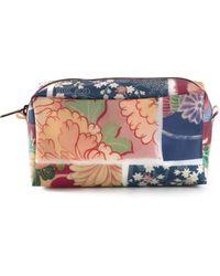 Luisa Cevese Riedizioni - Japanese Print Make Up Bag - Lyst