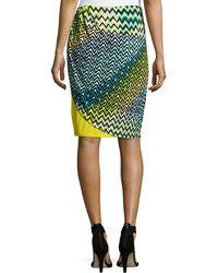 Natori - Deco Wave And Dot Skirt - Lyst