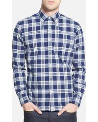 "Gant Rugger 'Winter Madras"" E-Z Fit Plaid Woven Shirt - Lyst"