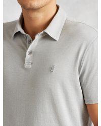 John Varvatos   Soft Collar Peace Polo   Lyst