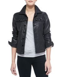 Blank Night Rider Faux-Leather Jacket - Lyst
