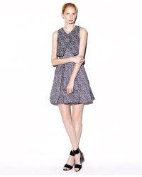 Jonathan Simkhai Layered A-Line Patterned Dress - Lyst
