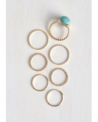 Ana Accessories Inc - Just A Stone's Glow Ring Set - Lyst