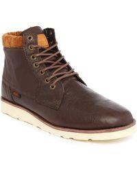 Vans | Breton Leather Ankle Boots | Lyst
