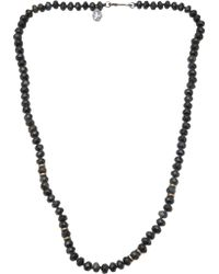 Joseph Brooks - Tiger Eye Necklace - Lyst