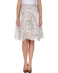 Alysi 3/4 Length Skirt - Lyst