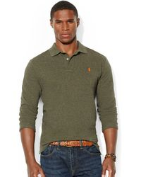 Polo Ralph Lauren Classic Fit Mesh Polo - Lyst