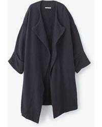 Black Crane Black Quilt Coat - Lyst