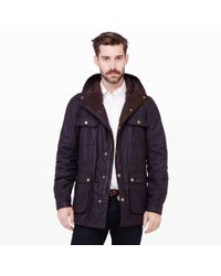 Club Monaco Barbour® Northolt Jacket - Lyst