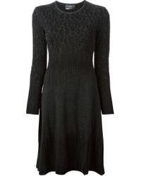 Ferragamo Aline Knit Dress - Lyst