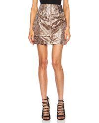 Kenzo Broken Floor Lurex Jacquard Skirt - Lyst