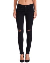 Rag & Bone Black The Skinny - Lyst