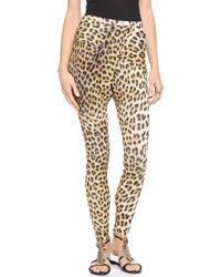Just Cavalli Leopard Leggings  - Lyst