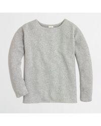 J.Crew Factory Textured Sweatshirt - Lyst