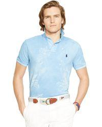 Polo Ralph Lauren Tropical Mesh Polo Shirt - Lyst