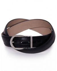 Stemar - Novara Leather Belt - Lyst
