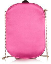 Charlotte Olympia Long Festival Embellished Silksatin Shoulder Bag - Lyst