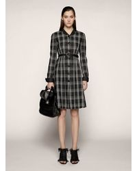 Proenza Schouler Long Sleeve Flared Dress - Lyst