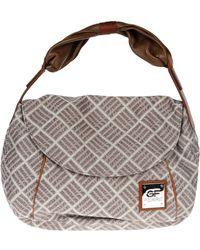 Gianfranco Ferré Medium Fabric Bag - Lyst
