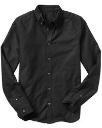 Gap Solid Oxford Shirt Slim Fit - Lyst
