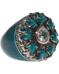 M.c.l - Gothic Flower Ring - Lyst