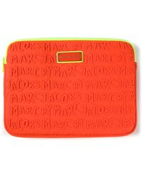 Marc By Marc Jacobs Logo Embossed Tablet Case - Lyst