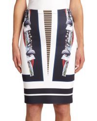 Clover Canyon Ancient Parallels Pencil Skirt - Lyst