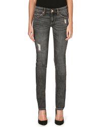 Etoile Isabel Marant Tina Midrise Skinny Jeans Black - Lyst