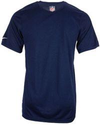 Nike New England Patriots Legend Jock Tag T-Shirt - Lyst