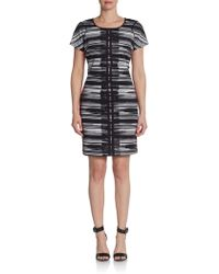 Marc New York By Andrew Marc Printed Dress - Lyst