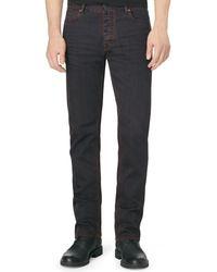 Calvin Klein Slimstraight Colored Overdye Jeans - Lyst