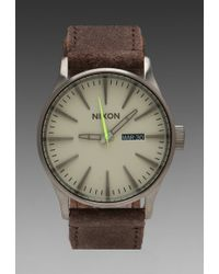 Nixon Gunsmith Collection The Sentry Leather - Lyst