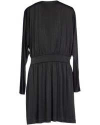 Halston Short Dress - Lyst