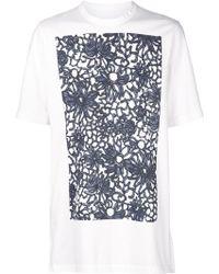Marni | Floral Print T-shirt | Lyst